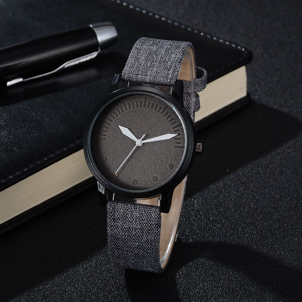 Men Simple Style Casual All Matched Elegant Vogue Watch