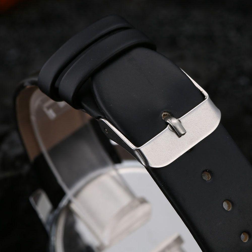 Men Trendy Simple Design Waterproof Watch