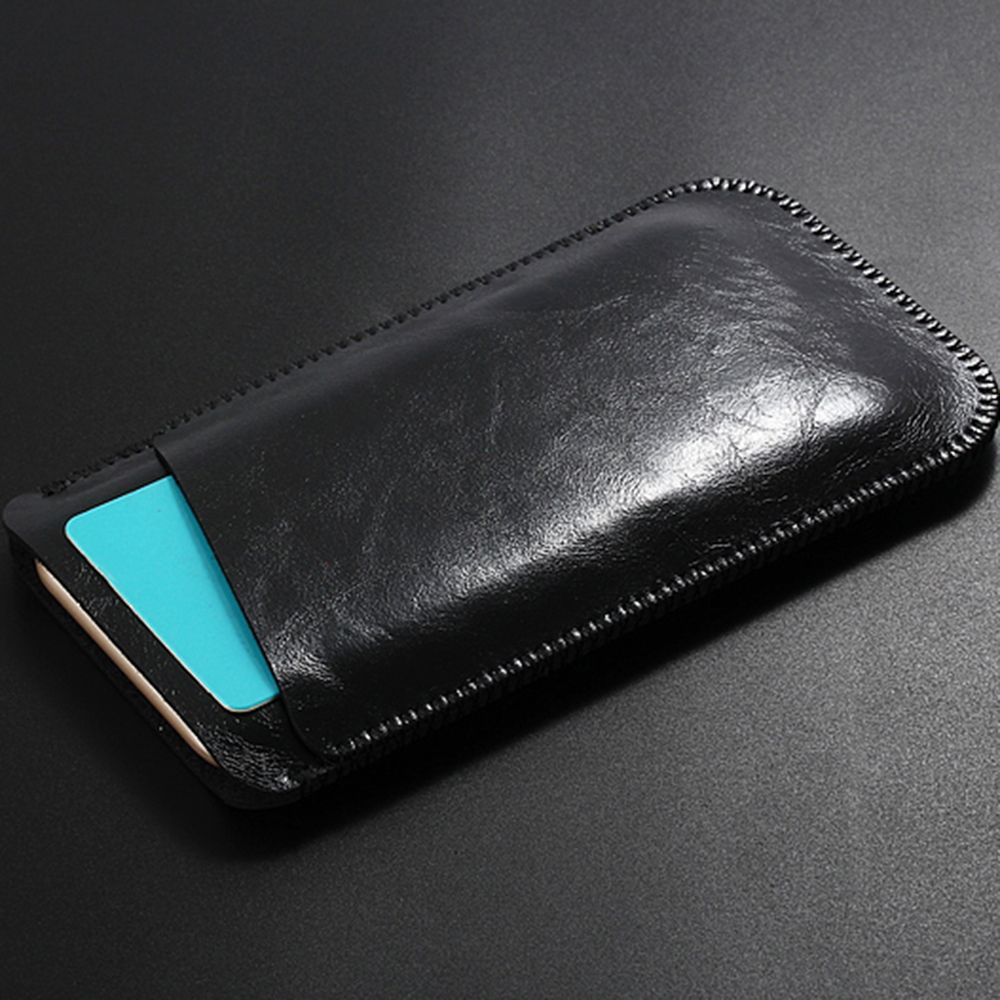 Charmsunsleeve For UMIDIGI G 5.0 inch Case Ultra-thin Microfiber Leather Phone Sleeve Bag Card Pocket
