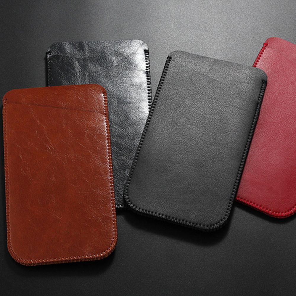 Charmsunsleeve For UMIDIGI C2 5.0 inch Case Ultra-thin Microfiber Leather Phone Sleeve Bag Card Pocket