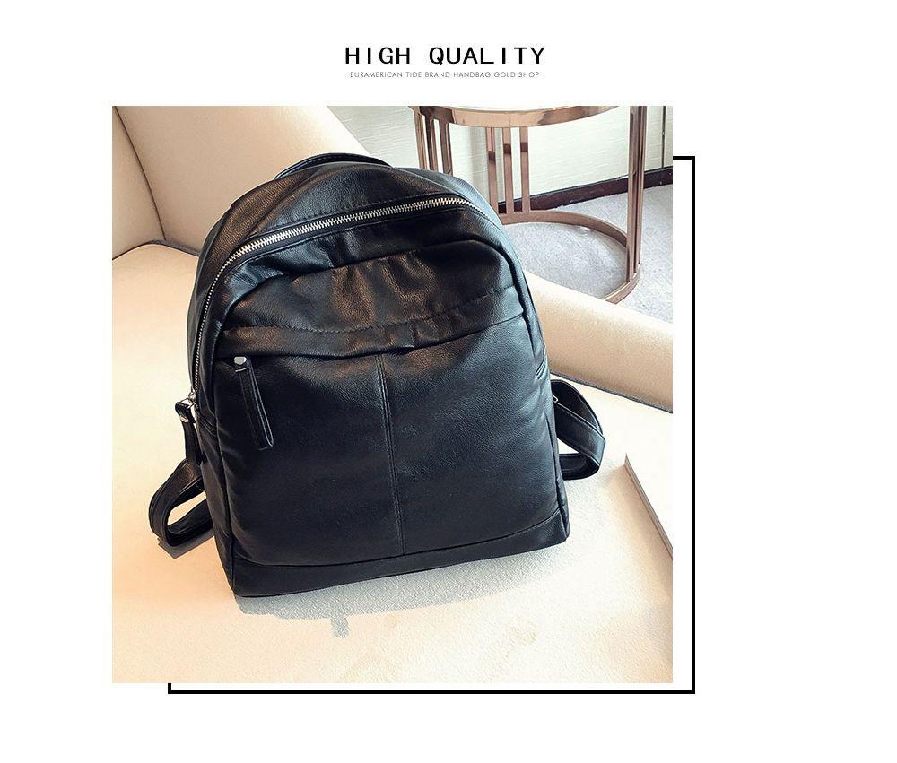 New Pu Fashion Personality Backpack Handbag Mummy Bag