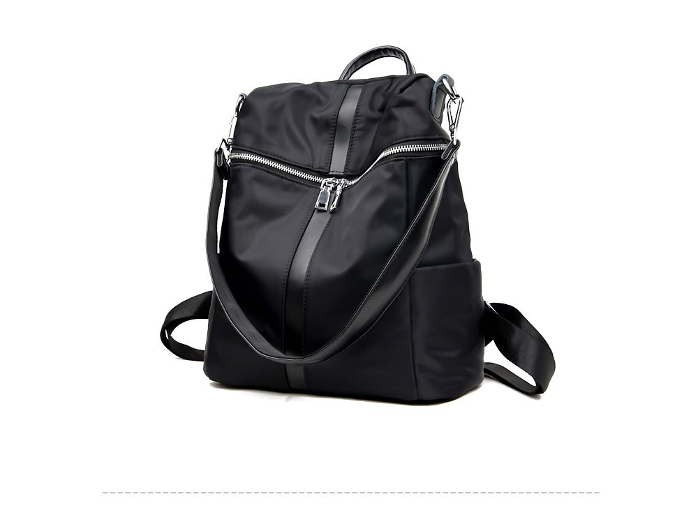 Female Soft Leather Schoolbag Fashion Collocation Amphibious Travel Bag Backpack