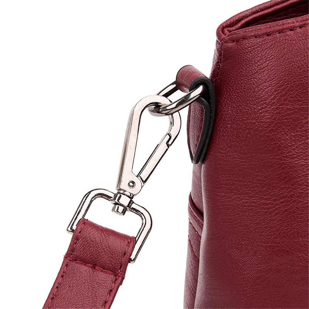 Portable Fashion Wild Shoulder Messenger Casual Lady Big Bag