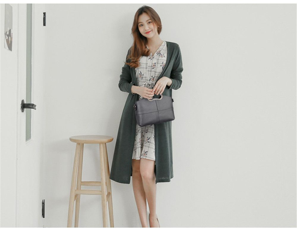 Portable Fashion Wild Shoulder Messenger Casual Lady Big Bag