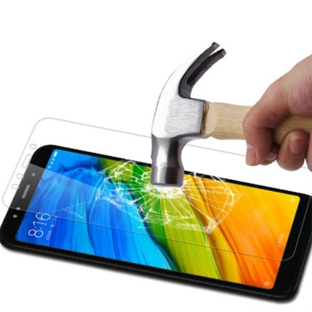 2PCS Screen Protector for Xiaomi Redmi 5 Plus HD Full Coverage High Clear Premium Tempered Glass