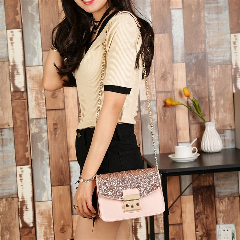 Messenger All-match Cute Adorable Korean Tide Simple Summer Shoulder Chain Bag