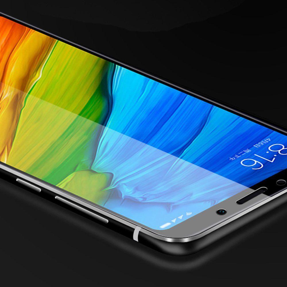 2PCS Screen Protector for Xiaomi Redmi 5 Plus HD 3D Full Coverage High Clear Premium Tempered Glass