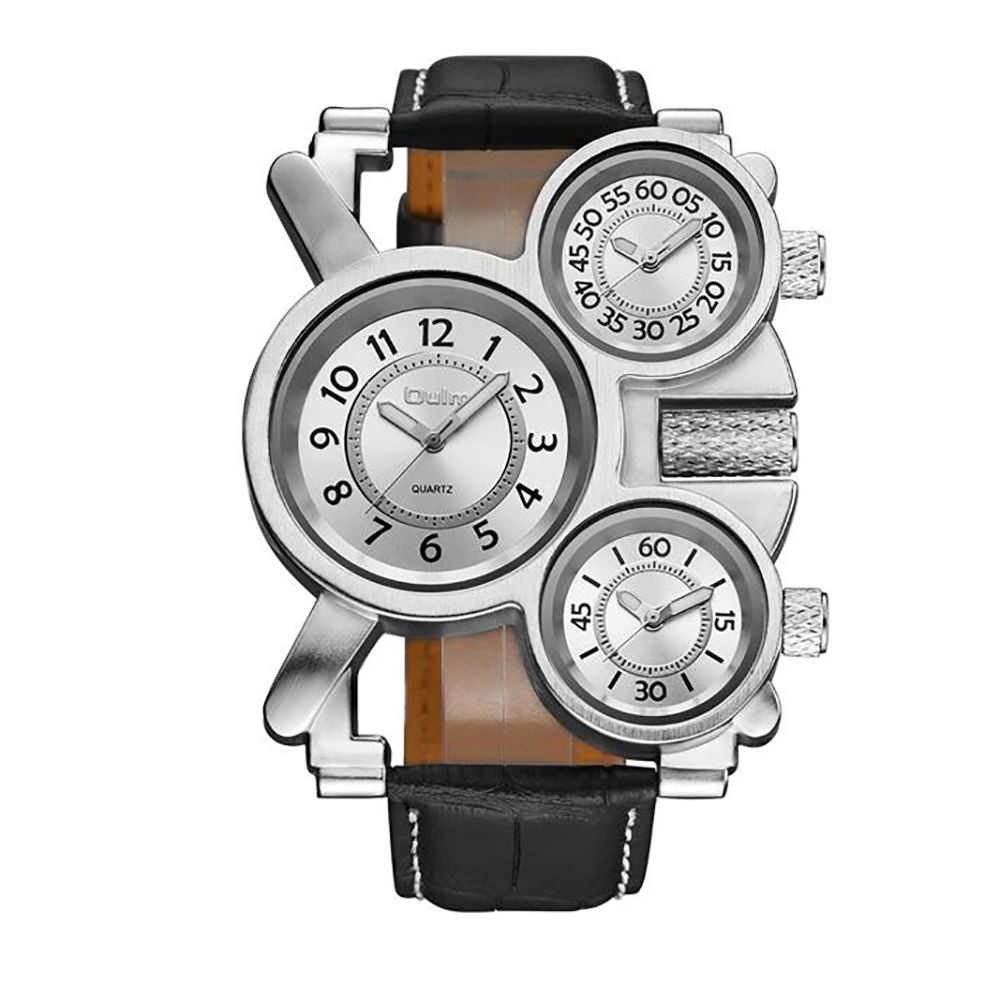 Foreign Hot Cool Watch in Multiple Time Zones