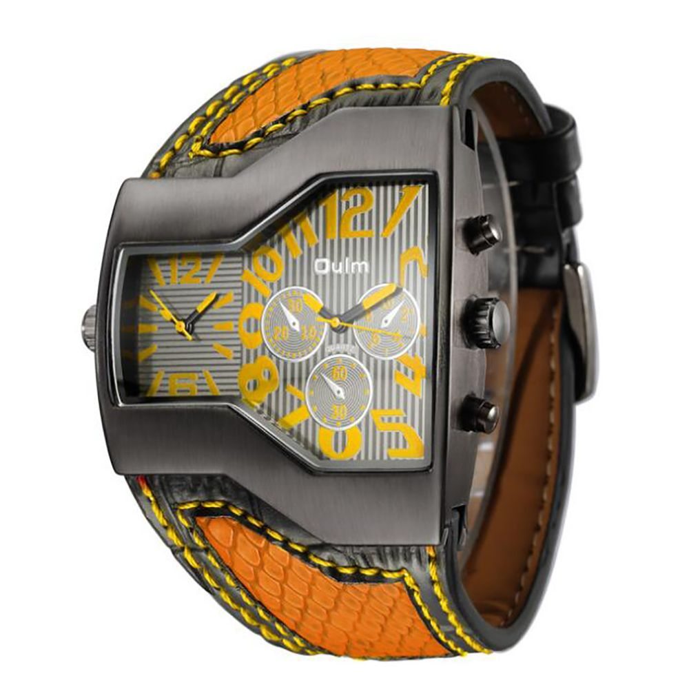 Personality Two Time Zone Tide Watch