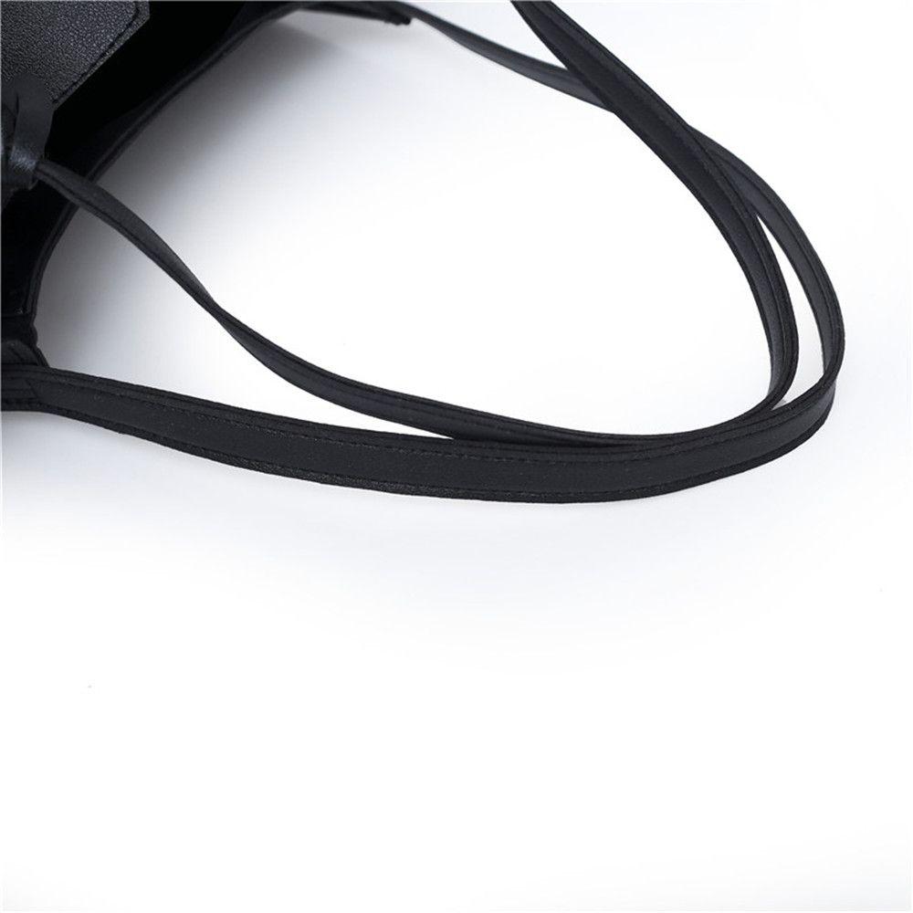 Tote Shoulder Simple Two Pieces Handbag