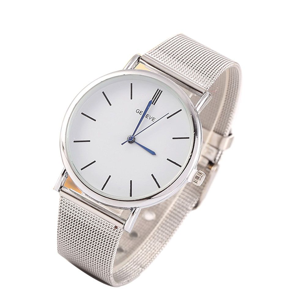 Stylish Casual Stainless Steel Band Men Watch