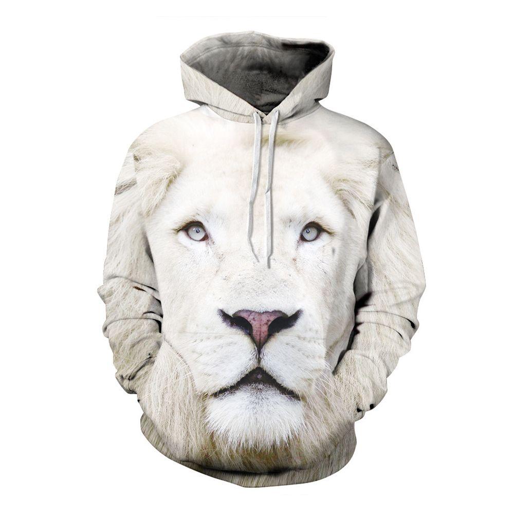 3D Hooded Fashion Printed Hoodie