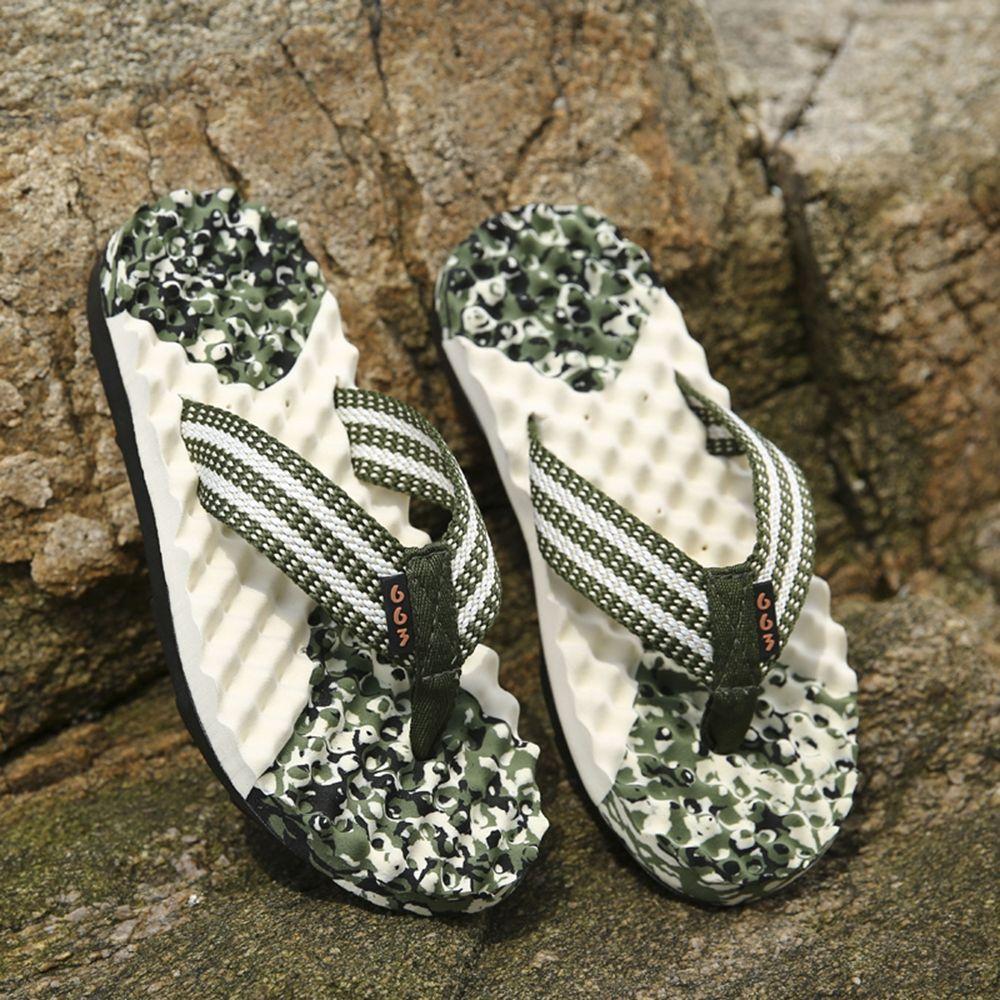 Digital Camo Massage Men's Slippers