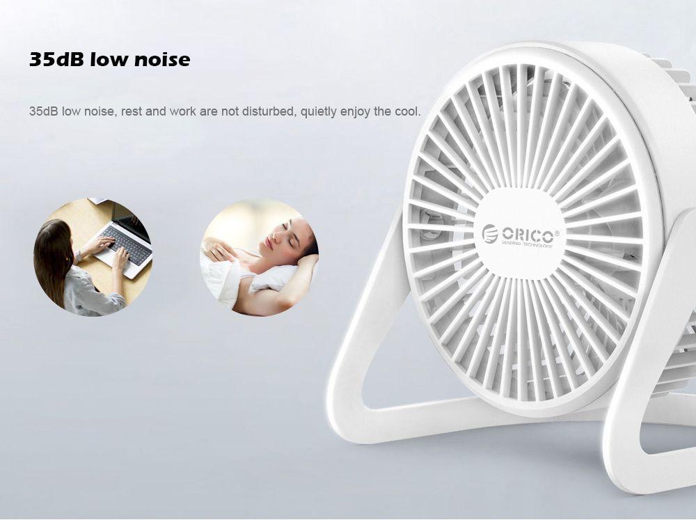 ORICO FT1 - 2 Desktop Adjustable Low Noise USB Mini Fan
