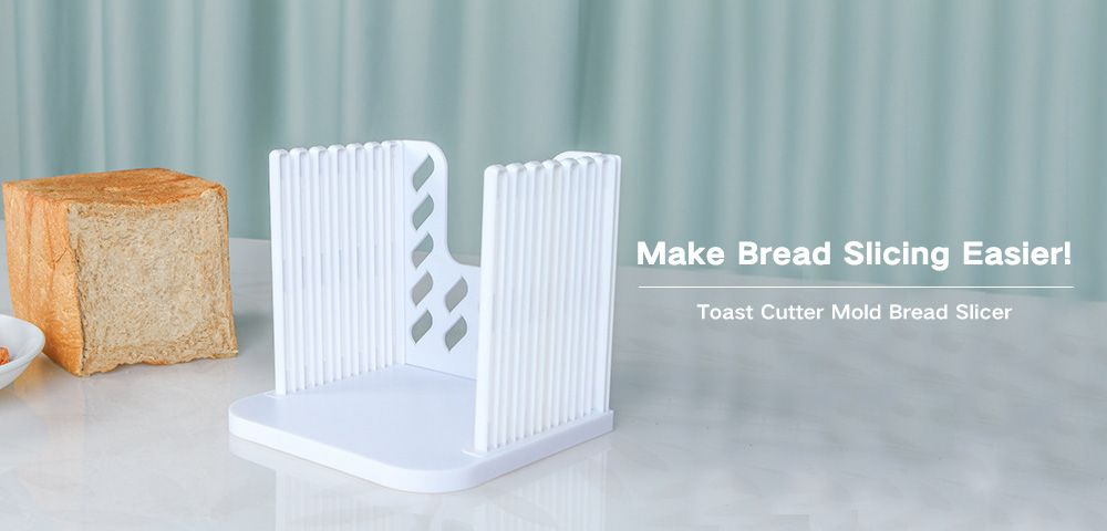 Toast Cutter Mold Bread Slicer Loaf Slicing Machine for Kitchen