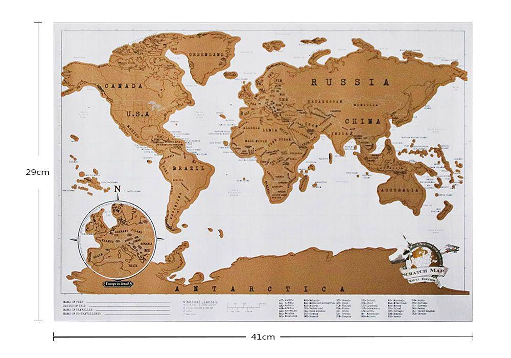 Mini World Map.17 Off 2019 Mini World Map For Home Decoration In Multicolor Size
