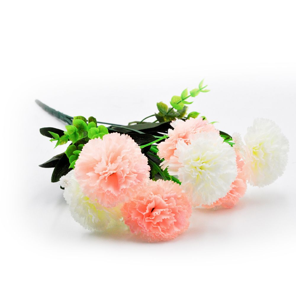 2018 Carnation Bouquet Ornament Artificial Flowers For Home