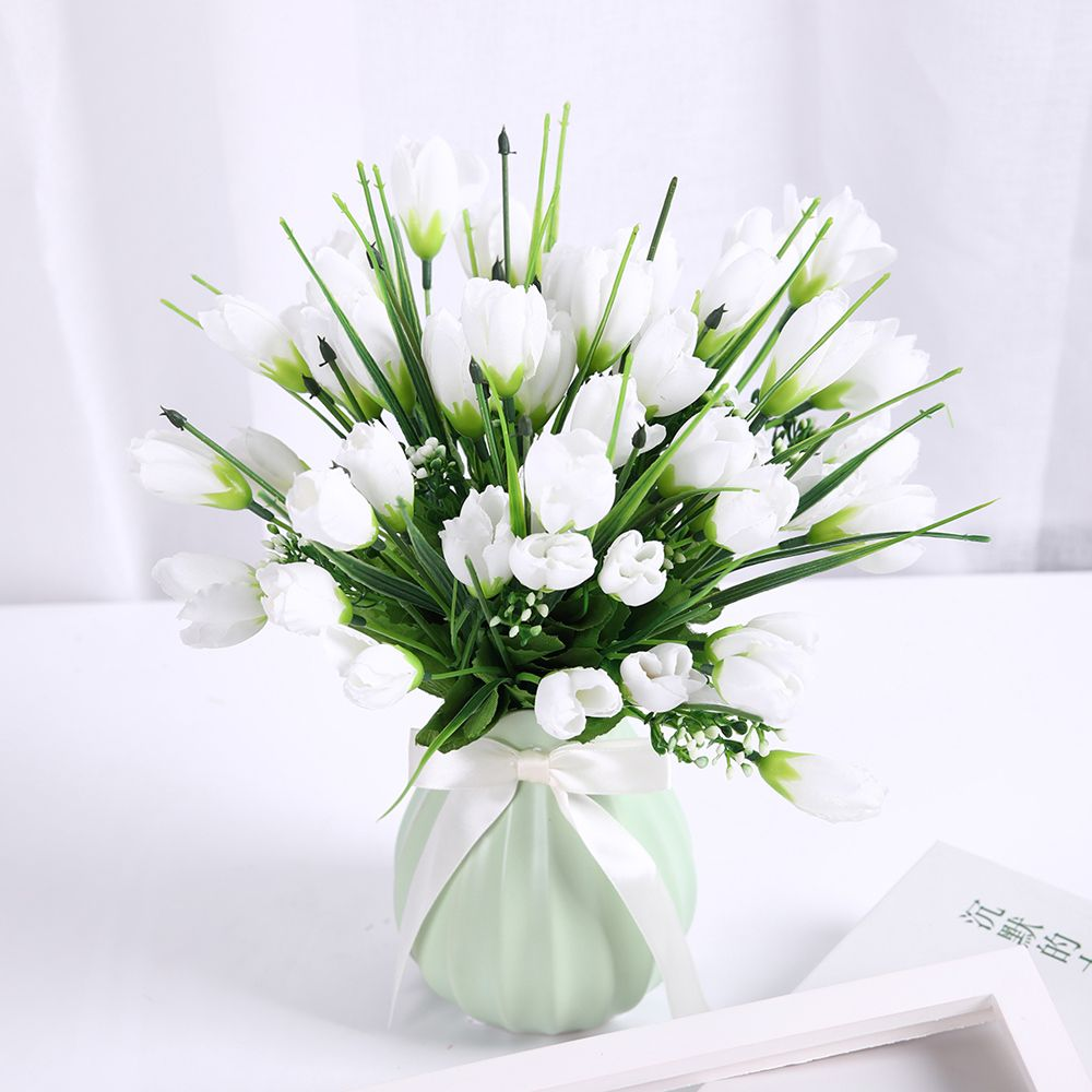 2018 Sweet A Bouquet Of Room Decoration Artificial Magnolia Flower