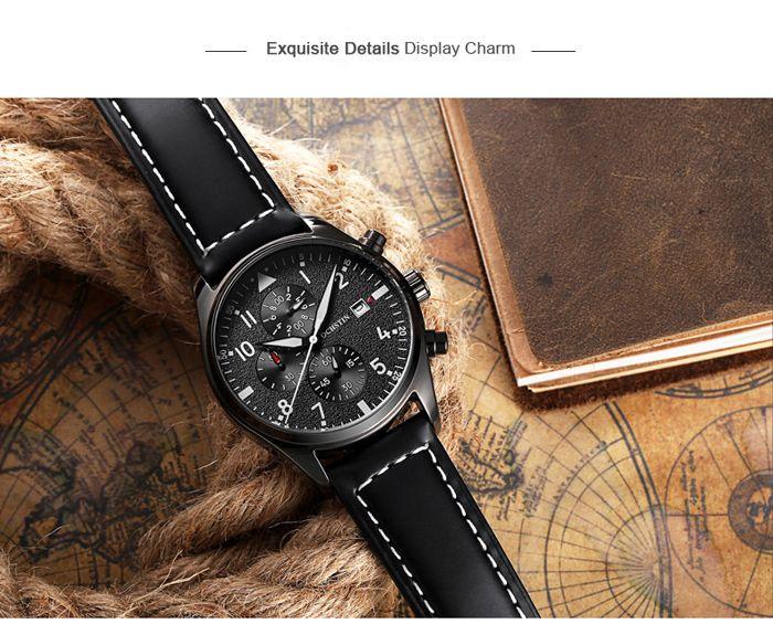 OCHSTIN Outdoor Frosted Surface Dial Male Quartz Watch