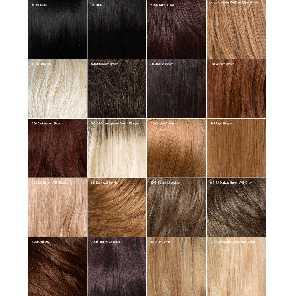 Siv Hair Side Bang Long Shaggy Wavy Colormix Human Hair Wig
